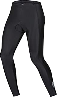 Men's Cycling Pants Padded Bicycle Tights Leggings Compression Pant-6-Panel Design,Breathable & Absorbent