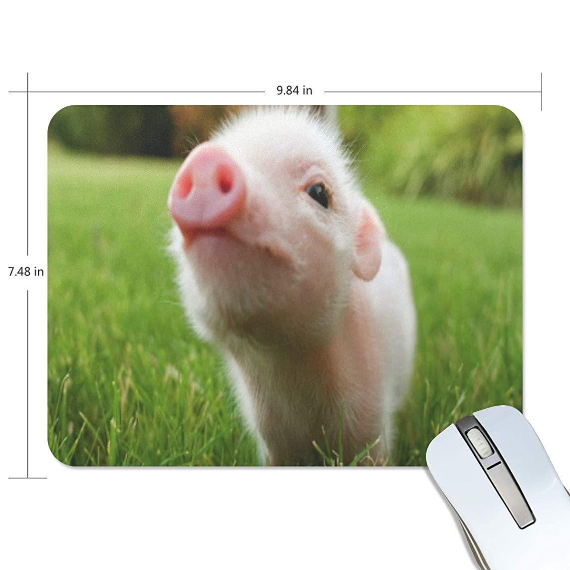 Mouse Pad Cute Pig Gaming Mousepad Cheap Small Thick Mouse Mat Black Amazing Mouse Pads