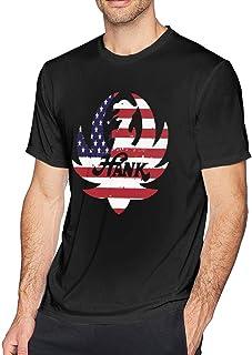 Men's Casual Hank Williams Jr Tee Shirts Short Sleeve O-Neck Cotton T Shirt Tops Boys Men Plus Size Sports Fitness Tshirt