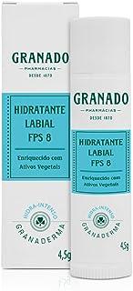 Hidratante Labial FPS 8, Granado, Azul claro, 4,5g