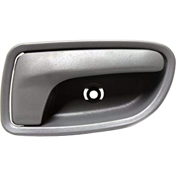 Amazon Com Interior Door Handle For 2003 2005 Kia Rio Front Passenger Side Gray Plastic Automotive