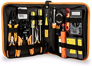 Hand Tools, JAKEMY JM-P15 17 in 1 Electronic Maintenance Tools Soldering Iron Metal Spudger Pliers Tweezers Digital Multim...