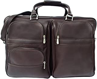 Piel Leather Complete Carry-All Bag, Chocolate, One Size
