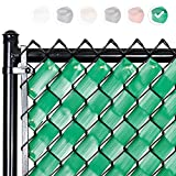 Fenpro Chain Link Fence Privacy Tape (Emerald Green)