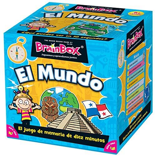 Asmodee BrainBox El Mundo - Juego de Mesa en Español, TGG13401