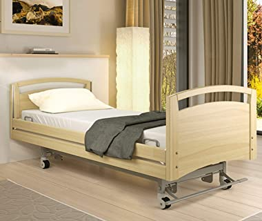 """TL Care Health, Fitted Hospital Bed Sheet, Soft Cotton/Polyester Jersey Knit, for Medical or Home Care, 84"""" x 36"""" x 1"""