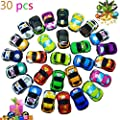 Pull Back Vehicles,30 Pack Friction Powered Pull Back Car Toys, Vehicles and Racing cars Mini Car Toy For Kids Toddlers Boys,Pull Back and Go Car Toy.. by SINYUM