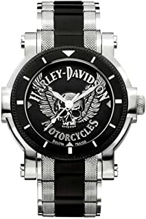 Men's Bulova Winged Skull Wrist Watch 78A109