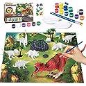 Kitoart New Enlarged Dinosaur Painting Kit