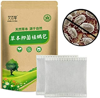 Hikaka 10pcs/Pack Dust Mites Killer Natural Mite Eliminator Pouch For Bed Sheet Pillow Couch Bedding Carpet Cushion