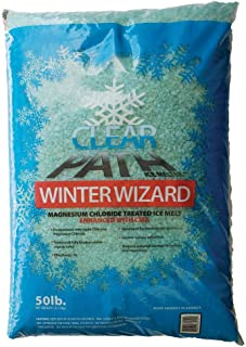 FDC Winter Wizard | Calcium Magnesium Acetate and Magnesium Chloride Ice Melt | Snow Melt & De-icer (50lb Bag)
