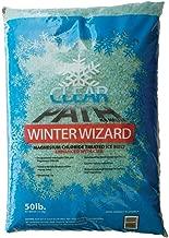 FDC Winter Wizard | Calcium Magnesium Acetate and Magnesium Chloride Ice Melt | Snow Melt & De-icer (50lb Bag)