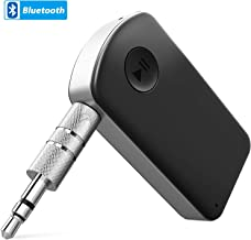 Bluetooth Receiver, YiSen US Portable Wireless Audio Adapter 4.1 Car Adapter 3.5mm Aux Stereo Output Aux Adapter for Home Audio Music Streaming Sound System