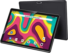 10 inch Tablet, Android 9.0, 32GB Storage, Octa-Core Processor, 1920x1200 IPS HD Display, 5G Wi-Fi(Black)