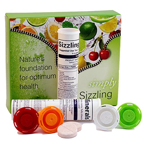 Simply Natural Pure Plant Derived Sizzling Minerals (Cherry Berry & Natural Flavour)