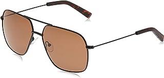 نظارة شمسية نوتيكا للرجال، بني 60 ملم N4640SP