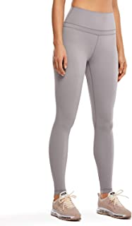 CRZ YOGA Women's Buttery Soft High Waisted Yoga Pants Full-Length Athletic Workout Leggings Naked Feeling -28 Inches