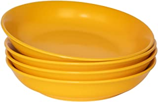 Libbey Salad Cereal Soup Bowls Yellow Raised dots  Sunshine Yellow lot of 3