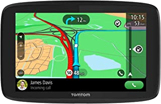 TomTom Car Sat Nav GO Essential, 5 Inch, with Traffic Congestion and Speed Cam Alert Trial Thanks to TomTom Traffic, EU Maps, Updates via WiFi, Handsfree Calling, Click-And-Drive Mount