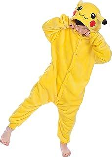 comprar comparacion YAOMEI Niños Unisexo Onesies Kigurumi Pijamas, Niña Traje Disfraz Animal Pyjamas, Ropa de Dormir Halloween Cosplay Navidad...