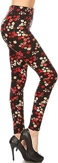 Leggings Depot Print REG/Plus Women's Buttery Soft Leggings BAT2