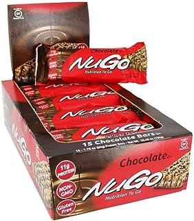 NuGo Nutrition NuGo Nutrition to Go Chocolate - 11 g - 15 Bars