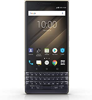 BlackBerry KEY2 LE Unlocked Android Smartphone (AT&T, T-Mobile, Verizon), 64GB, 13MP Rear Dual Camera, Android 8.1 Oreo (U.S. Warranty) – Champagne