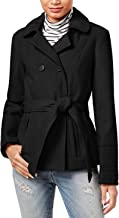 Celebrity Pink Junior's Belted Faux Wool