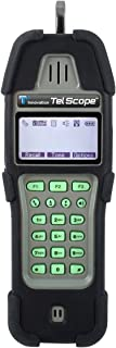 T3 Innovation KP400-T3-1 Tel Scope Butt Set Contains Telephone Test Set, Tone and Probe with Hanging Pouch, Black/Gray