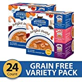 Rachael Ray Nutrish Purrfect Broths Natural Wet Cat Food, Seafood Favorites Variety Pack, 1.4 Ounce...