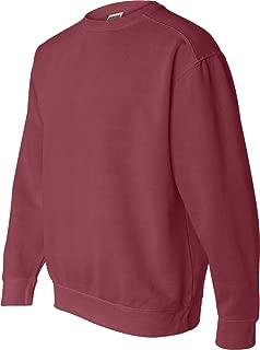 Chouinard Comfort Colors Pigment-Dyed Crewneck Sweatshirt. 1566 - X-Large - Crimson