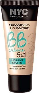 N.Y.C. New York Color BB Creme Foundation Matte, Medium, 1 Fluid Ounce