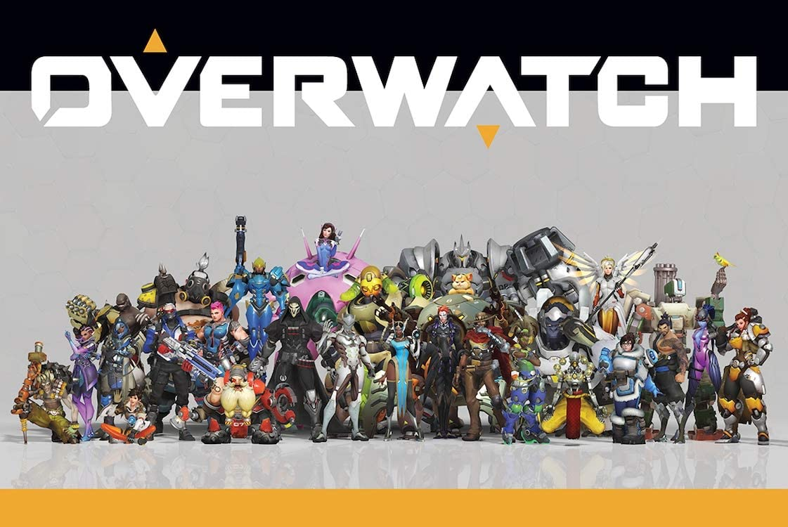 Overwatch Widow Maker Poster Official Licensed 24 x 36 Inches