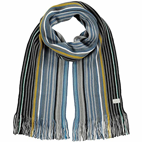 Barts Beck Scarf, Écharpe Homme, Multicolore (Black), One Size