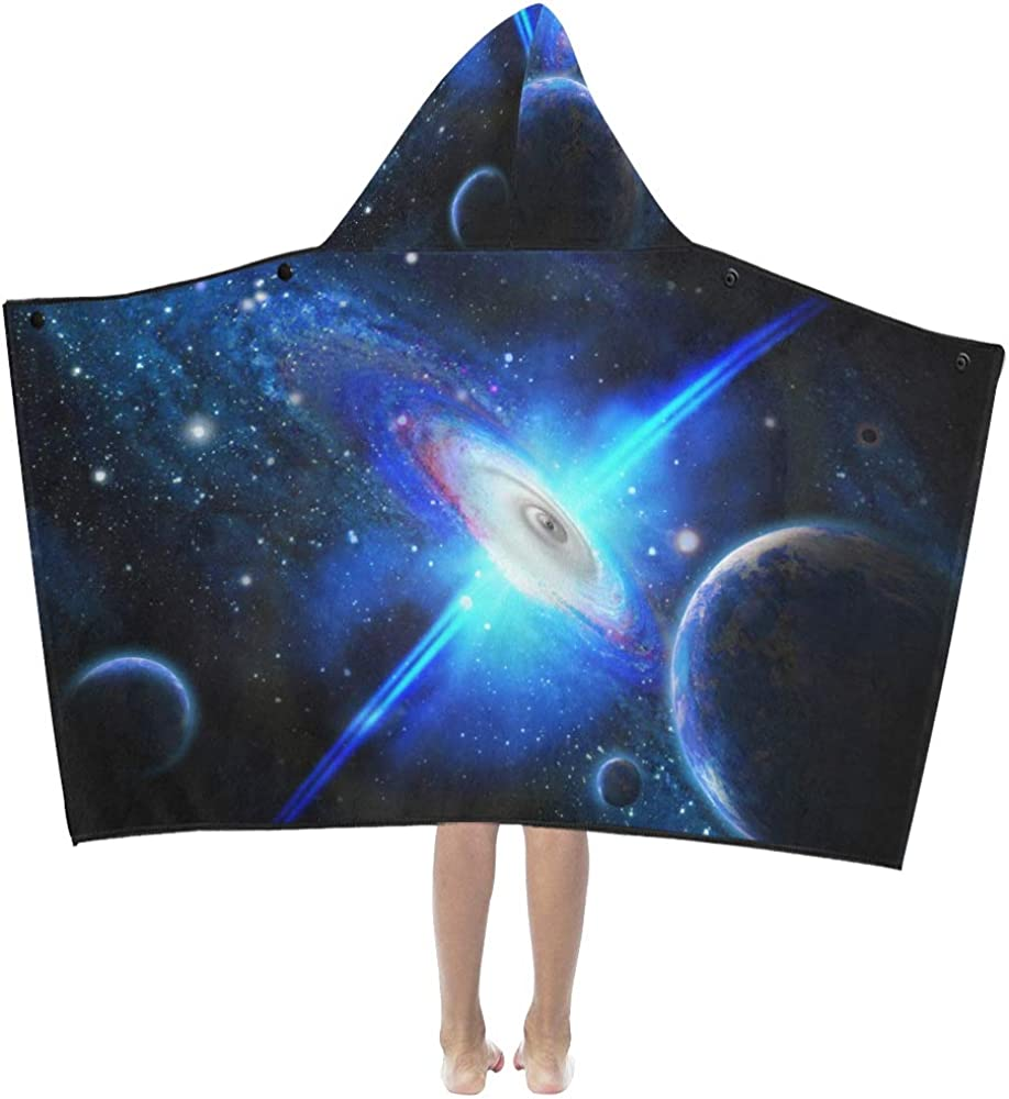 Cheap Bath Towels Universe 5 ☆ very popular Black Hole Bla Planet and 2021 autumn and winter new Kids Hooded