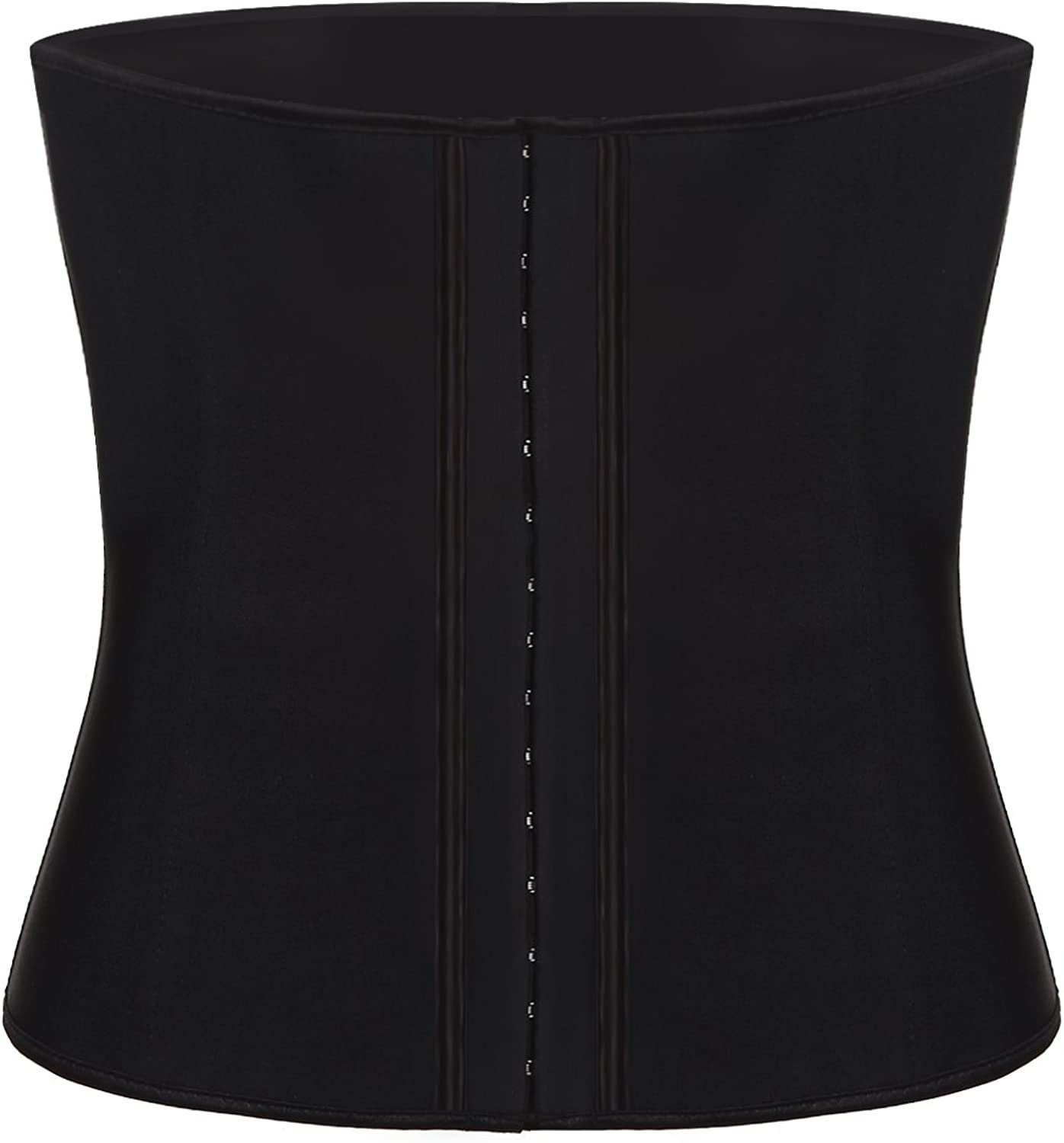 Aignis Women's Latex Sport Girdle Waist Trainer Corset Body Cincher Shapewear L