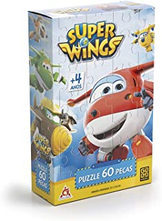 Quebra Cabeça 60 Peças Super Wings Grow