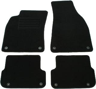 AD Tuning GmbH HG12021 Velours Passform Fußmatten Set Schwarz Autoteppiche Teppiche Carpet Floor mats