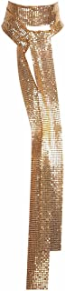 Best gold skinny scarf Reviews