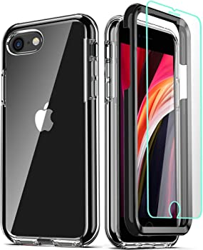 COOLQO Compatible for iPhone SE 2020 Case 4.7