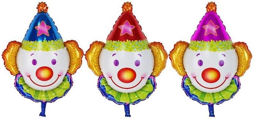 Circus Clown Foil Balloon Bouquets