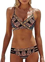 VECDY 2019 Bañador Monokini Push Up Traje De Baño étnico Vintage Siamés para Mujer Mujeres Vendaje De Una Pieza Bikini Bra Acolchado Ropa De Playa