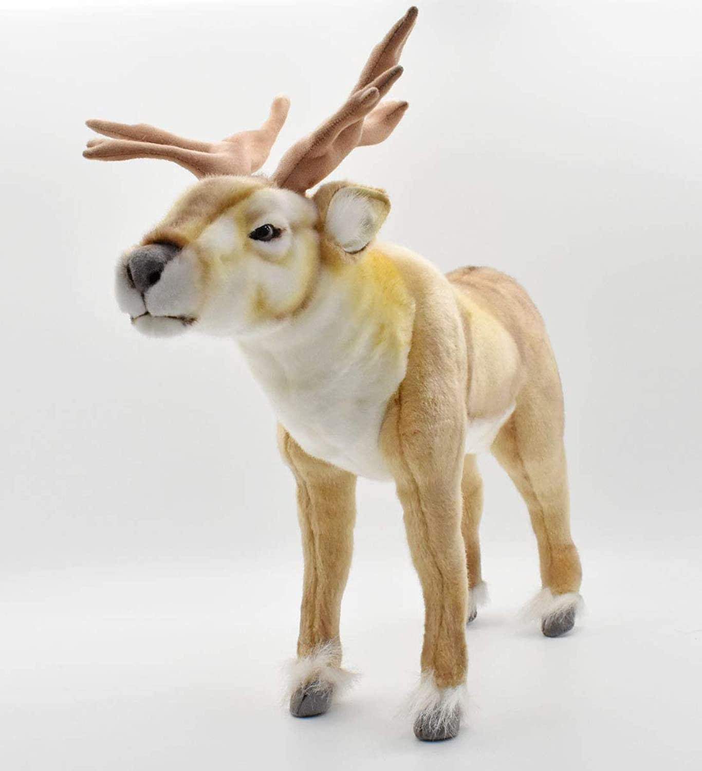 Plush Soft Toy Nordic Reindeer by Hansa. 45cm. 4589