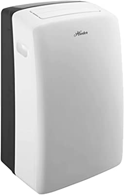 Hunter Fan Company HPAC-10C150 Hunter 10,000 (6,500 BTU DOE) Portable Air Conditioner for Rooms Up to 450 Sq. Ft, White