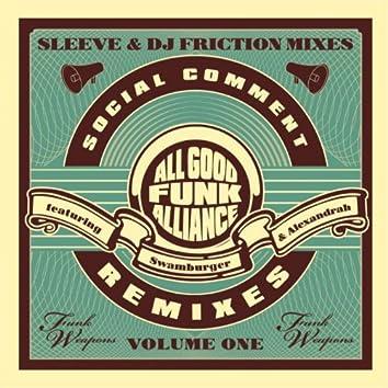 Social Comment Remixes Vol. 1