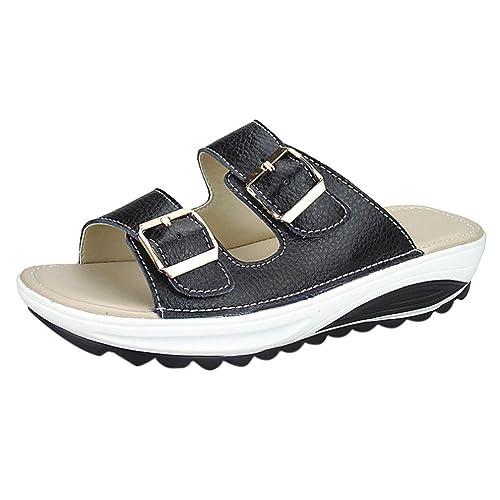 33371d7ee0e5c Lolittas Summer Beach Wedge Sandals Women Ladies