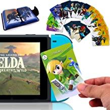 24Pcs The Legend of Zelda Breath of The Wild NFC Cards, [Newest Version] Compatible with Switch/Lite Wii U - with Cards Ho...