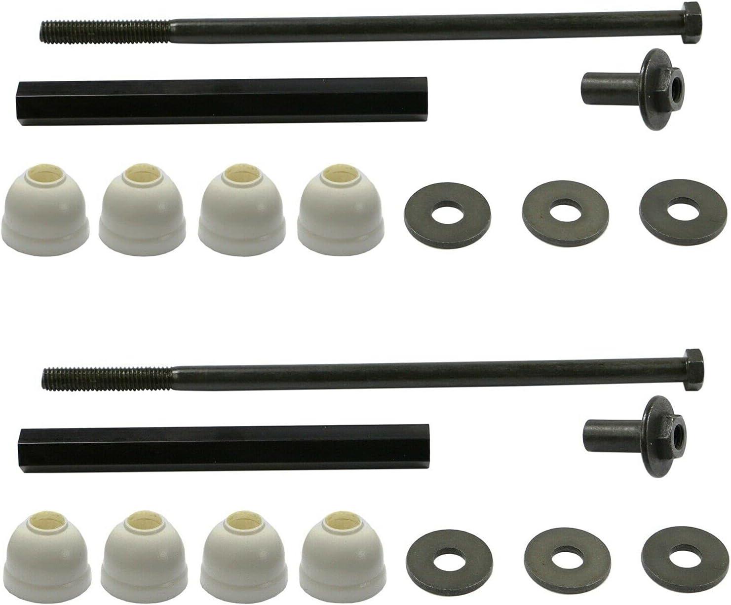 Pair Set of 2 Large discharge sale Front Stabilizer For with Regular dealer Link Kits Bar Compatible