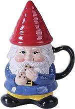 Ceramic Cute Mr Gnome Lidded Mug