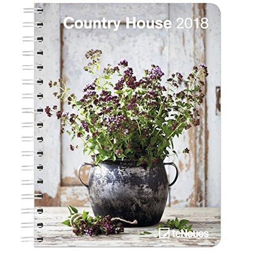Country House 2018 - Landhaus, Buchkalender, Taschenkalender, Terminplaner  -  16,5 x 21,6 cm